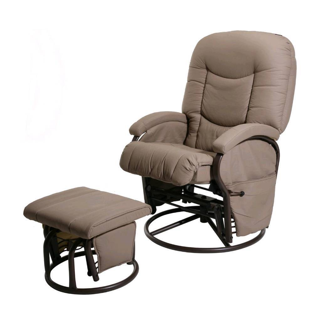 Kiddicare Cloud Nine Deluxe Glider Chair And Stool