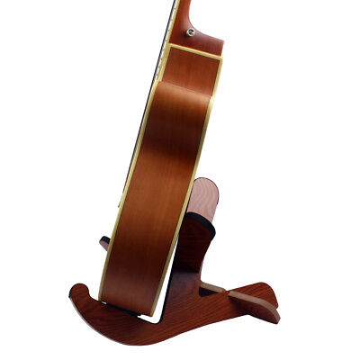 DIY Wood Guitar Stand Support for Music Store Home Exhibition Decoration