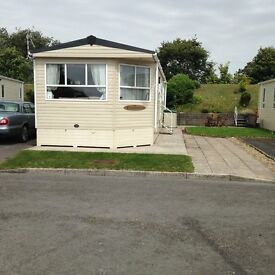 Static Caravan Sited At Trecco Bay Porthcawl, 38 x 12 2 Bed, immaculate condition