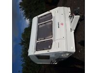 Swift Rapide 2 Birth touring caravan.