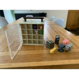 Minecraft figures and mini figures