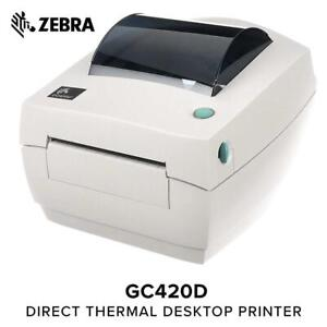 Zebra GC420d Desktop Direct Thermal Label Printer, 4 in/s Print Speed, 203 dpi Print Resolution, 4.09 Print Width