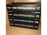 The Walking Dead Compendiums 1-4