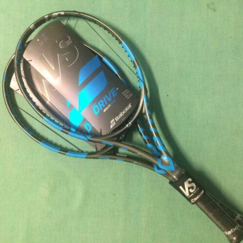 DUO-pack Babolat Pure Drive VS (incl bespanning) NIEUW!