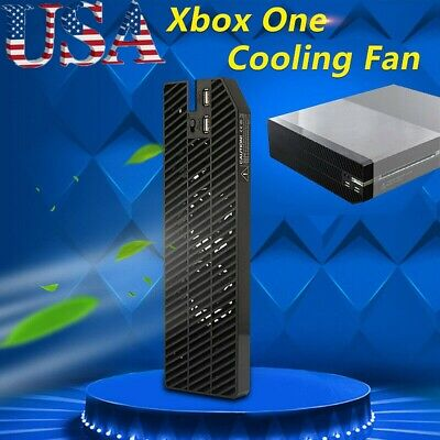 Cooling Cooler Fan 2 USB Exhauster Intercooler for Xbox One Console Controller