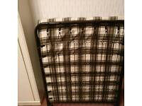 Single fold away guest bed