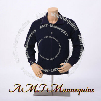 Ymt2-fw Male Torsostand Amt-mannequins Half Body Plastic Men Dress Form