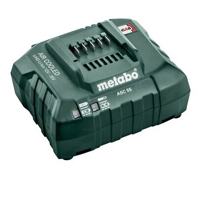 Metabo Akku Ladegerät ASC 55 18 V NEU lädt 12V - 36V ASC 30-36 CAS System