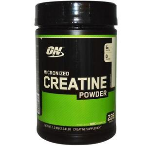 ON MICRONIZED CREATINE POWDER CREAPURE 1200grams 1.2kg (2.64LBS) 228 SERVINGS - OPTIMUM NUTRITION