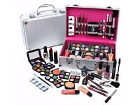 Vanity Case Cosmetic Make Up Urban Beauty Box Travel Carry Gift Storage 60 Piece