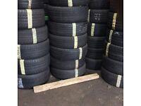 215/55/18 Continintal tyres 5-6mm tread