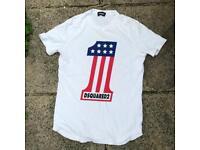 Dsquared white 1 t shirt