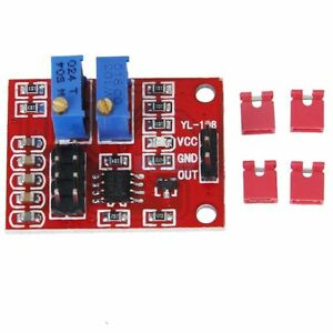 5PCS-NE555-Pulse-Module-LM358-Duty-Cycle-Frequency-Adjustable-Module-Square-Wave