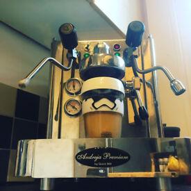 Quick Mill Andreja Premium - Coffee / Espresso Machine + Macap M4 Grinder