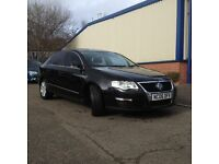 VW PASSAT 2.0 TDI SE, Beautifull Black car with 1 year MOT, Service history, New Timing Belt