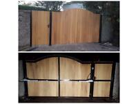 Made to measure driveway gates, fence panels, mot welding, and lots more great quality great value