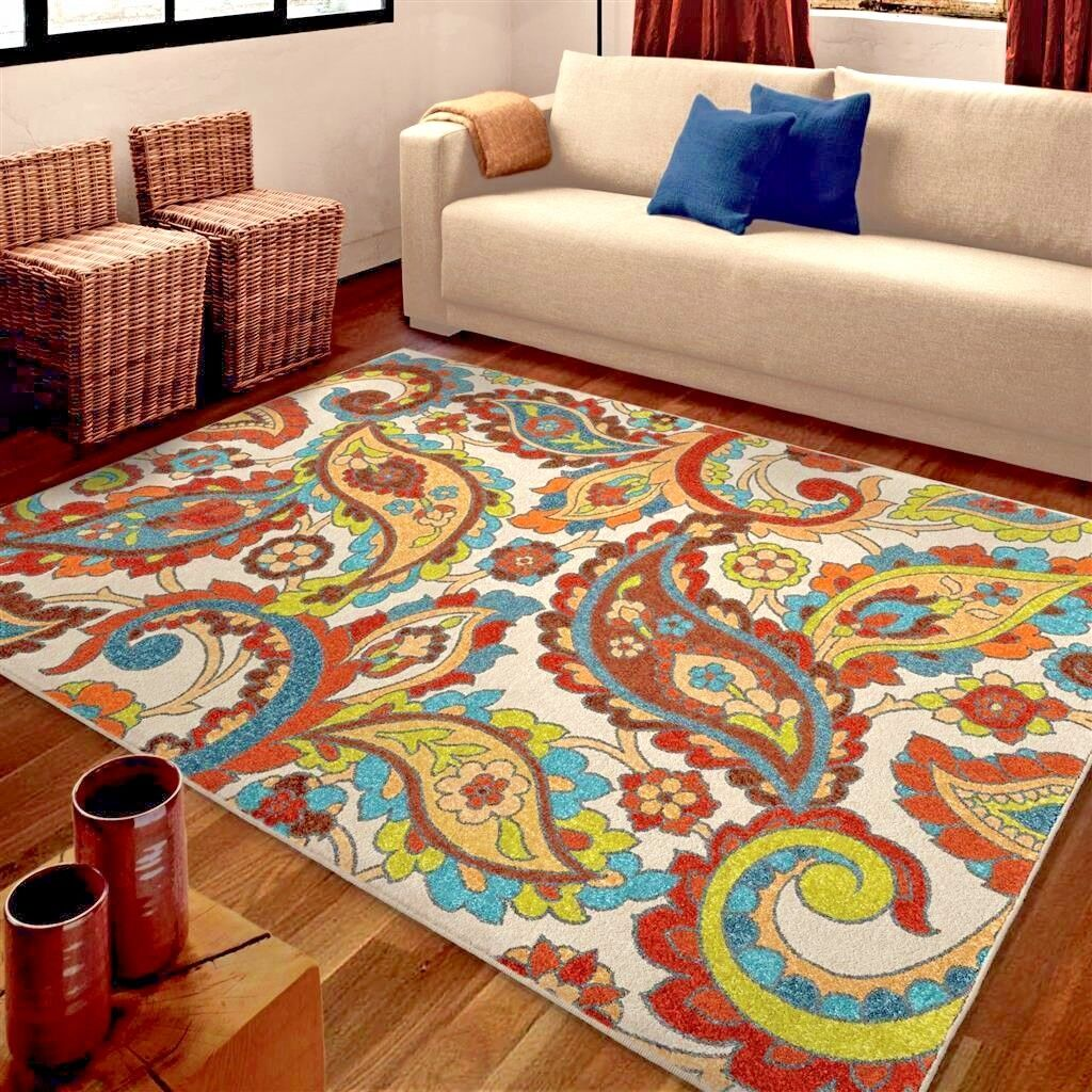 abstract ottomanson area beige rugs ft p rug contemporary x