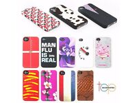 Hard Back Protective Case Cover for Apple Iphone 4 4S - 12 Quirky Designs **FREE POSTAGE**