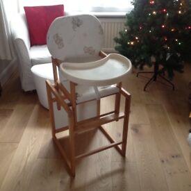 High Chair / Chair & Table