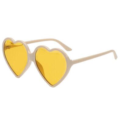 Herzform Party Sonnenbrillen Partybrille Spaßbrille Lustige Brille (Herzförmiger Kostüm)
