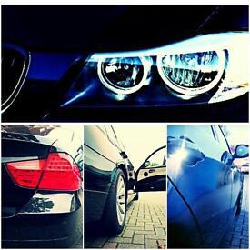BMW 318d business edition sat nav el. windows leather alloys parking assistant folding mirrors