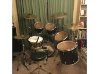 Pearl masters drum kit sabian AXX plosion cymbal pack together or separate snare not included