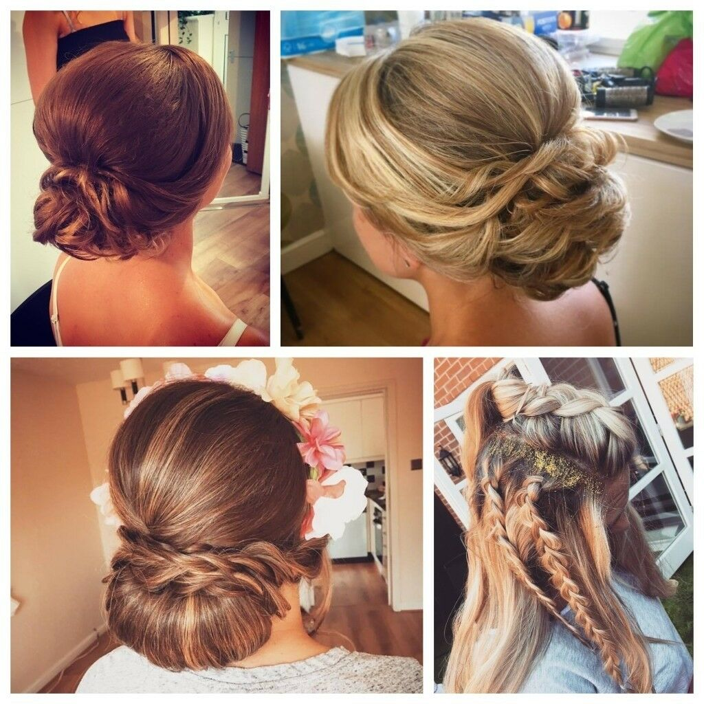 Wedding Hairstyle With Hair Extensions: Mobile Hairdresser & Make-up Artist
