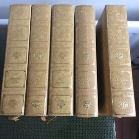 Heron Books set 5 Poets of the English Language Vols.1 - V