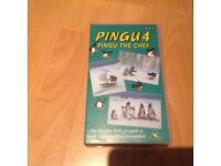 Pingu 4 VHS Tape