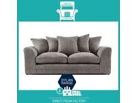 😂Made New😂2 Seater £169 3 Seater £195 3+2 £295 Corner Sofa £295-Crushed Velvet Jumbo Cord Brand😂