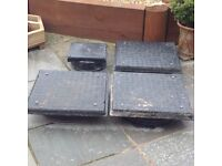 Inspection Chambers/Manhole Covers Polypipe x 4