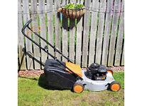 Flymo/Husquvarna QuickSilver 46 Petrol Lawn Mower / Briggs & Stratton Engine