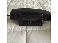 Cordless telephone with answer machine.