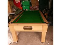 Pool table 6x4 for sale good condition