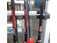 Avanti 3 feeder rods in one bag