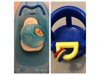 Bath Seat, Bath, Bowl, Support & Thermometer