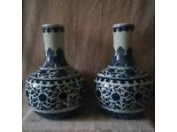 Two Large Antique chinese ceramic vases