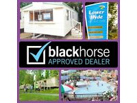 2 BEDROOM CARAVAN FOR SALE, NO SITE FEE'S TO PAY TILL 2018,ISLE OF WIGHT,PET FRIENDLY,RENTAL OPTIONS