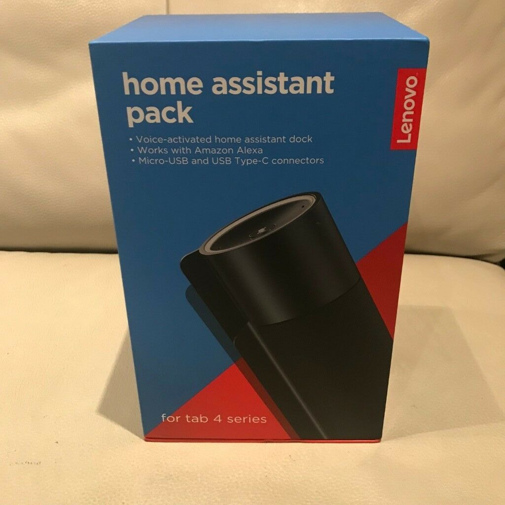 LENOVO HOME ASSISTANT PACK WITH ALEXA FOR TAB 4 SERIES - USED ONCE/BOXED  WITH INSTRUCTIONS | in East London, London | Gumtree