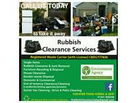 Rubbish Clearance (Registered Waste Carrier )