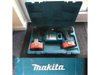 Makita 18v 8391D CORDLESS BATTERY DRILL WORKING ORDER