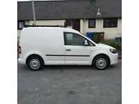 2012 VW caddy, 72k , excellent condition, new tyres, roof rack. Sale or swap for bigger van.