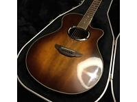 Yamaha APX500II ew Electro acoustic guitar with Hard case