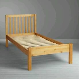 New! Jhon Lewis Wilton Single Bed/ Pine