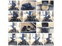 Graco Evo pram pushchair buggy stroller moses basket carry cot