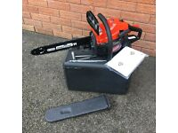 Mountfield Petrol Chainsaw Oregon bar and chain Brand New with carry case, tools, and manual