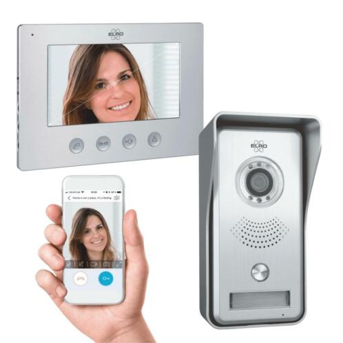 Elro Bedraad Color Night Vision Deur Intercom Systeem met