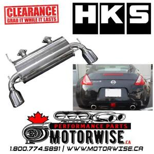 HKS Legamax Exhaust System for 2009-2018 Nissan 370Z | $1500 Cash | CLEARANCE SALE