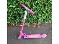 Scooter, pink, razor