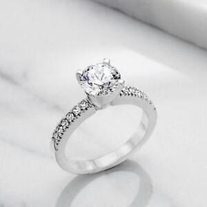 BAGUE DE FIANÇAILLES AVEC DIAMANT DE 1.00 CARAT / ENGAGEMENT RING WITH A 1.00 CARAT DIAMOND